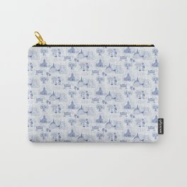 Winnipeg Summer Toile Carry-All Pouch