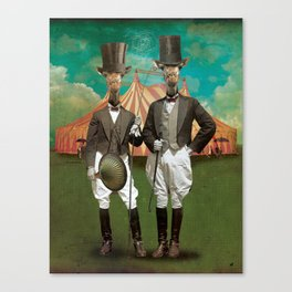 Circus-Circus :: The Twins Canvas Print