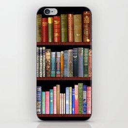 Antique books ft Jane Austen & more iPhone Skin