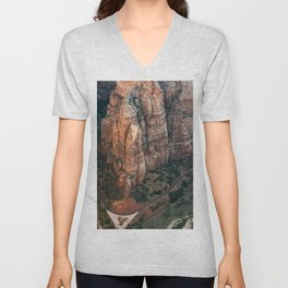 Zion Canyon Unisex V-Neck