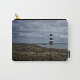 Storm Clouds Over The Trwyn Du Lighthouse Carry-All Pouch