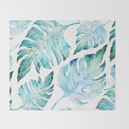 love tropical Throw Blanket