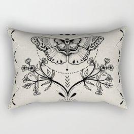 Magical Moth Rectangular Pillow