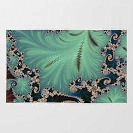Azure - Fractal Art Rug