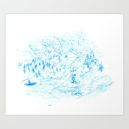 By Lavish Waters. Art Print