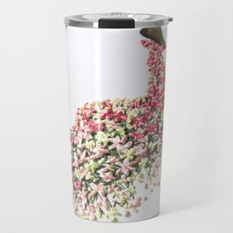 Flower Shadows Travel Mug