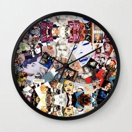 Madonna Albums. Wall Clock