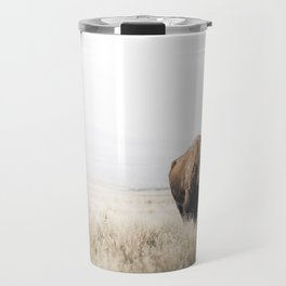 Bison stance Travel Mug