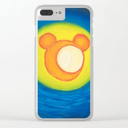 Starry Night Over the World Clear iPhone Case