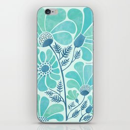 Himalayan Blue Poppies iPhone Skin