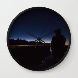 Light Obstruction Wall Clock