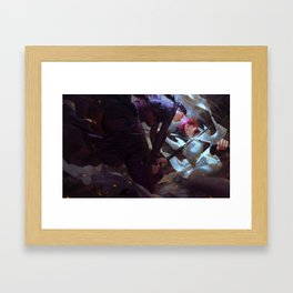 Duel of the fates Framed Art Print