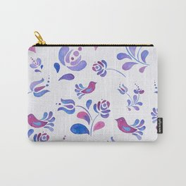 Violet Nature Carry-All Pouch