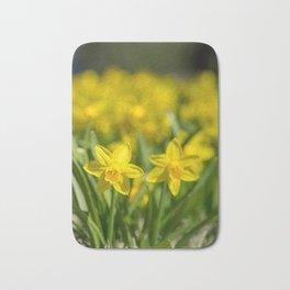 Tiny Daffodils Bath Mat