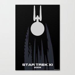 Trek XI : 2009 Minimalist Poster Canvas Print