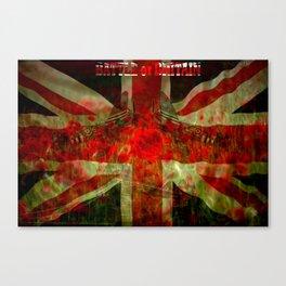 battle of britain memorial  Canvas Print