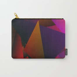 Smoke Screen Abstract 4 Carry-All Pouch