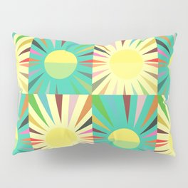 Sunshine pattern Pillow Sham