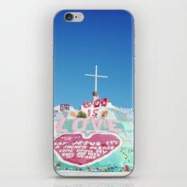 Salvation Mountain in the Californian Desert iPhone Skin