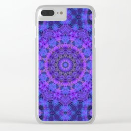 Mandala on my Mind Clear iPhone Case