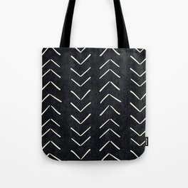 Mudcloth Big Arrows in Black and White Tote Bag