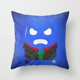 Vincent BottleCap Throw Pillow