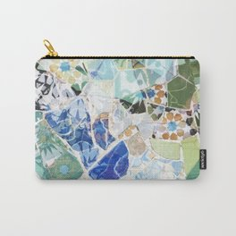 Mosaic of Barcelona VII Carry-All Pouch