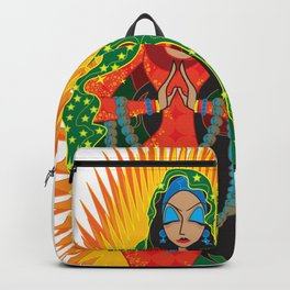 La Virgen de Guadalupe Backpack