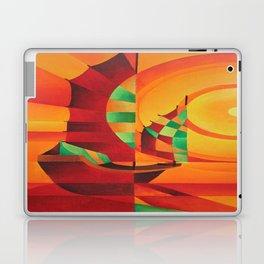 Cubist Junks on A Red Sea Laptop & iPad Skin
