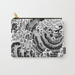HATCH vs Hokusai: Wave (Masculine) Carry-All Pouch