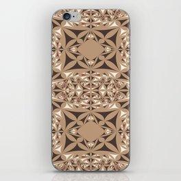Capuccino kaleidoscope iPhone Skin