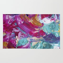 Abstract painting 5 Rug