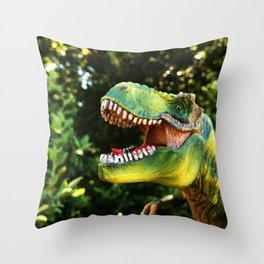 T-MotherFuckin-Rex Throw Pillow