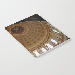 The rotunda of the Capitol building in Madison, Wisconsin Notebook