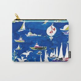 The Marina, Southport, AUSTRALIA        by Kay Lipton Carry-All Pouch