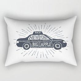 New York. Big Apple Rectangular Pillow