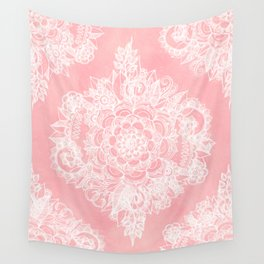 Marshmallow Lace Wall Tapestry