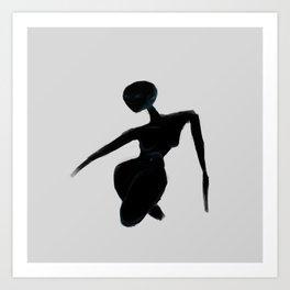 Seeking Body Art Print