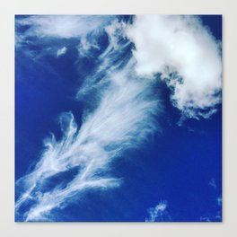 Crazy cloud Canvas Print