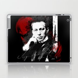 Sergei Rachmaninoff - Russian Pianist, Composer, Conductor Laptop & iPad Skin