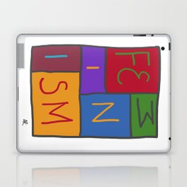 Intersectional Feminism In Colour Laptop & iPad Skin