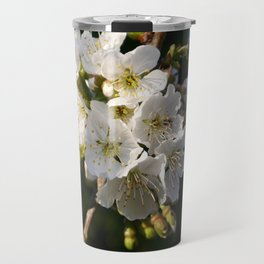 Sweet Cherry Blossoms Travel Mug