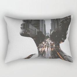 City 2 Rectangular Pillow
