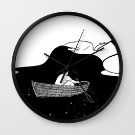 Rowing to you Wall Clock