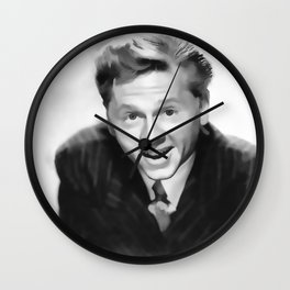 Vintage Mickey Rooney - Circa 1940's Wall Clock