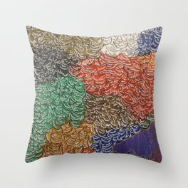 10,000 Leaves Throw Pillow