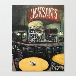 Jackson's Bar & Bistro Canvas Print