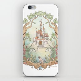 Castle in a Magical Forest Kingdom iPhone Skin