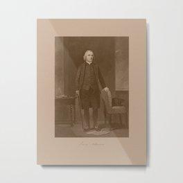 Founding Father Samuel Adams Metal Print