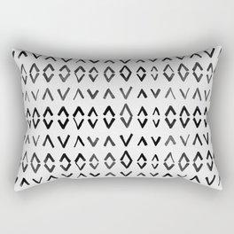 Scandinavian Diamond Pattern Rectangular Pillow
